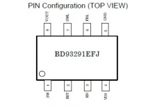 BD93291EFJ Pin Configuration